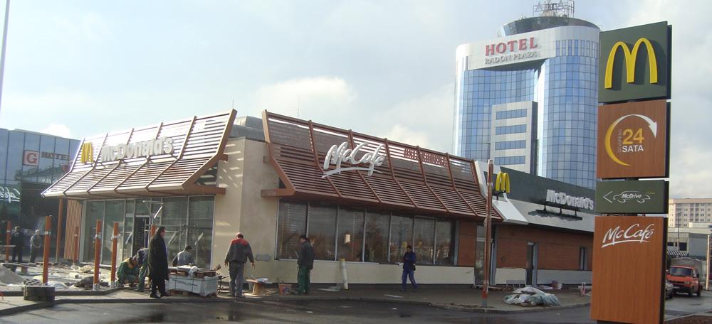 Keramika nova - McDonalds Sarajevo